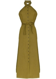 Mara Hoffman Rosemary linen-blend maxi dress