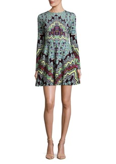 Mara Hoffman Rug Printed Mini Dress