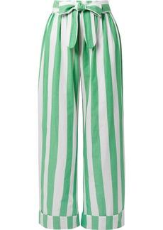 Mara Hoffman Sasha Striped Organic Cotton Pants