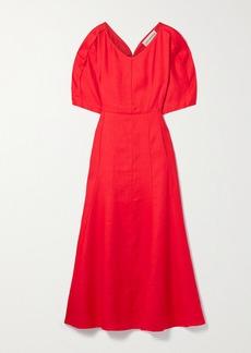 Mara Hoffman Net Sustain Sicily Hemp Midi Dress