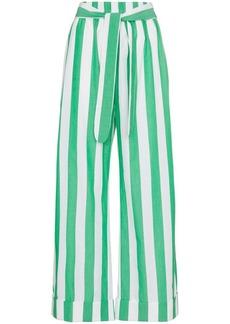 Mara Hoffman striped sasha cotton trousers