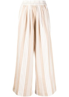 Mara Hoffman striped wide-leg trousers