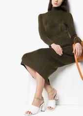 Mara Hoffman Susan rib knit midi skirt