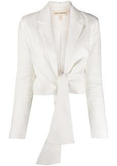 Mara Hoffman tie fastened blazer