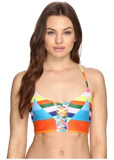 Mara Hoffman Vela Lattice Halter