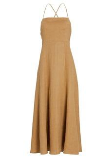 Mara Hoffman Verona Halter Midi Dress