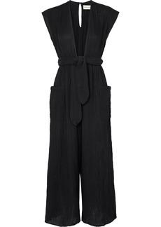 Mara Hoffman Whitney Organic Cotton-crepon Jumpsuit