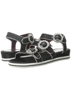 Marc by Marc Jacobs Charlotte Strass Buckle Sandal