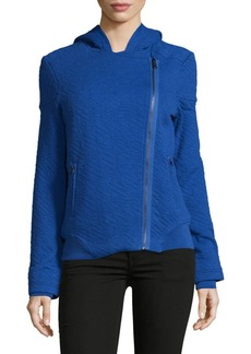 Marc by Marc Jacobs Cleo Long-Sleeve Quilted Hoodie