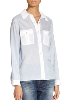 Marc by Marc Jacobs Dalia Dobby Blouse
