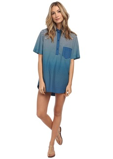 Marc by Marc Jacobs Kat Cotton Stripe Cover-Up