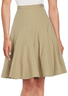 Marc by Marc Jacobs Pleated Poplin Skirt