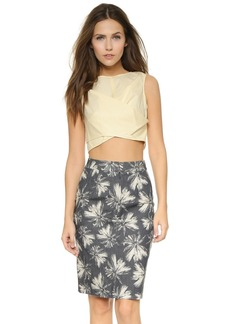 Marc by Marc Jacobs Summer Cotton Crop Top