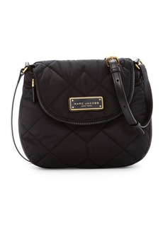 Marc Jacobs Quilted Nylon Mini Messenger Bag