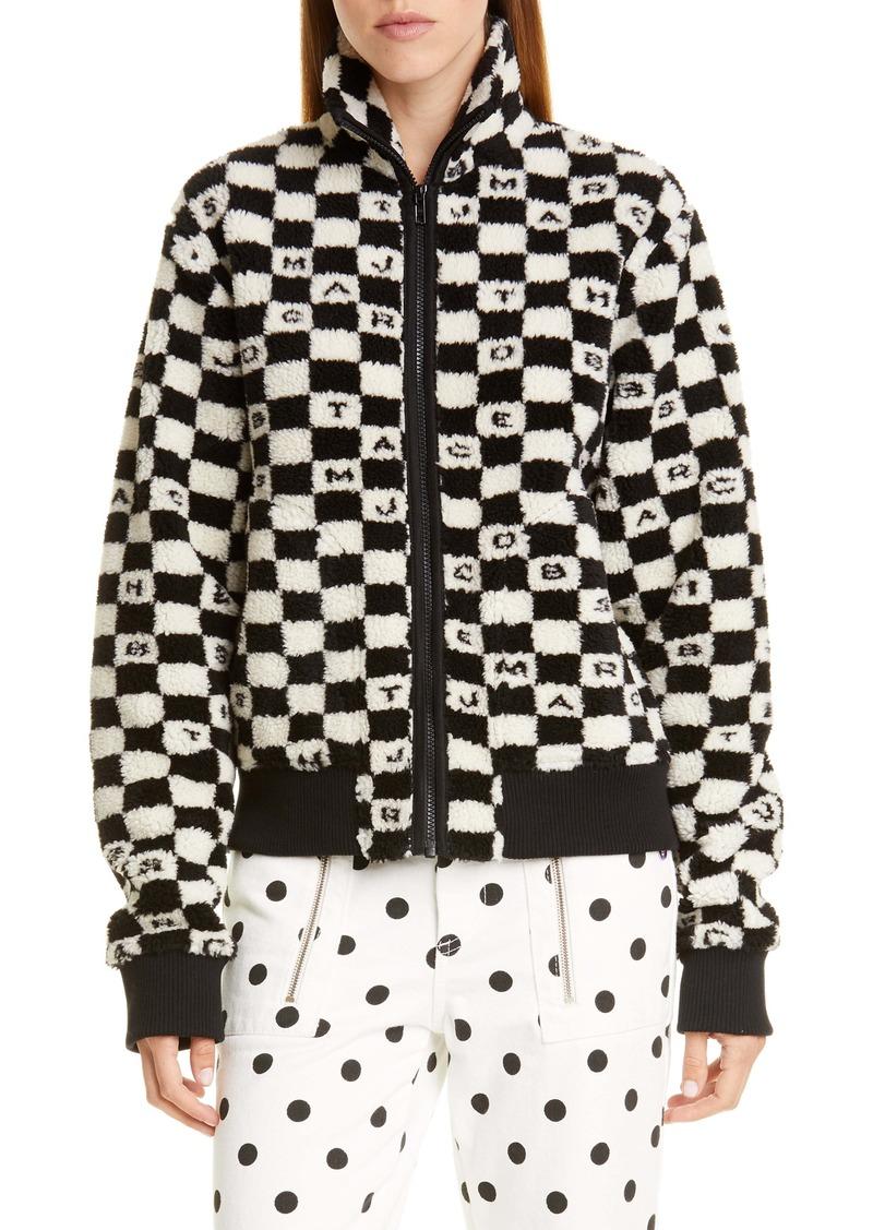 The Marc Jacobs The Fleece Zip Jacket