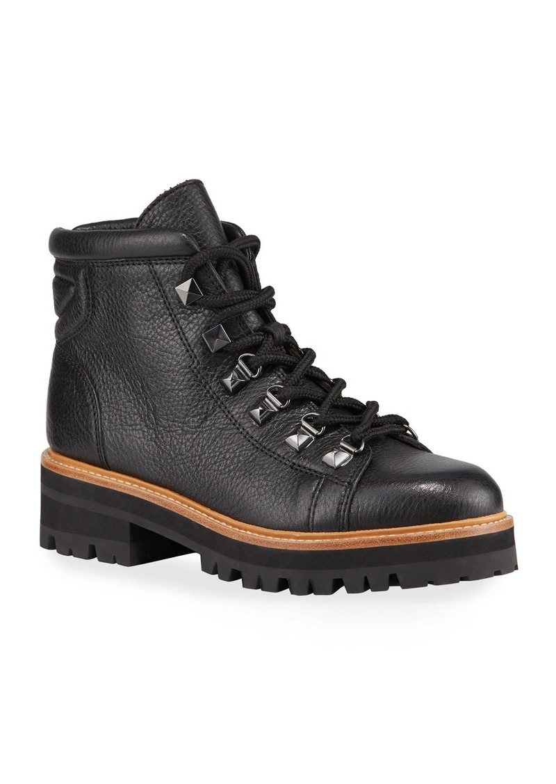 Marc Fisher Issy Leather Hiker Boots