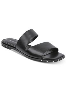 Marc Fisher Jaylin Studded Flat Sandals Women's Shoes