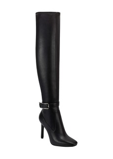Marc Fisher LTD Caia Buckle Over the Knee Boot (Women)
