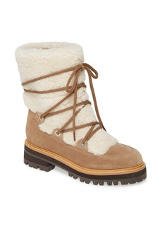 Marc Fisher LTD Isha Genuine Shearling Hiking Boot (Women)