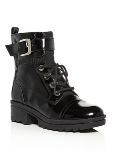 Marc Fisher LTD. Women's Bristyn Block-Heel Combat Boots
