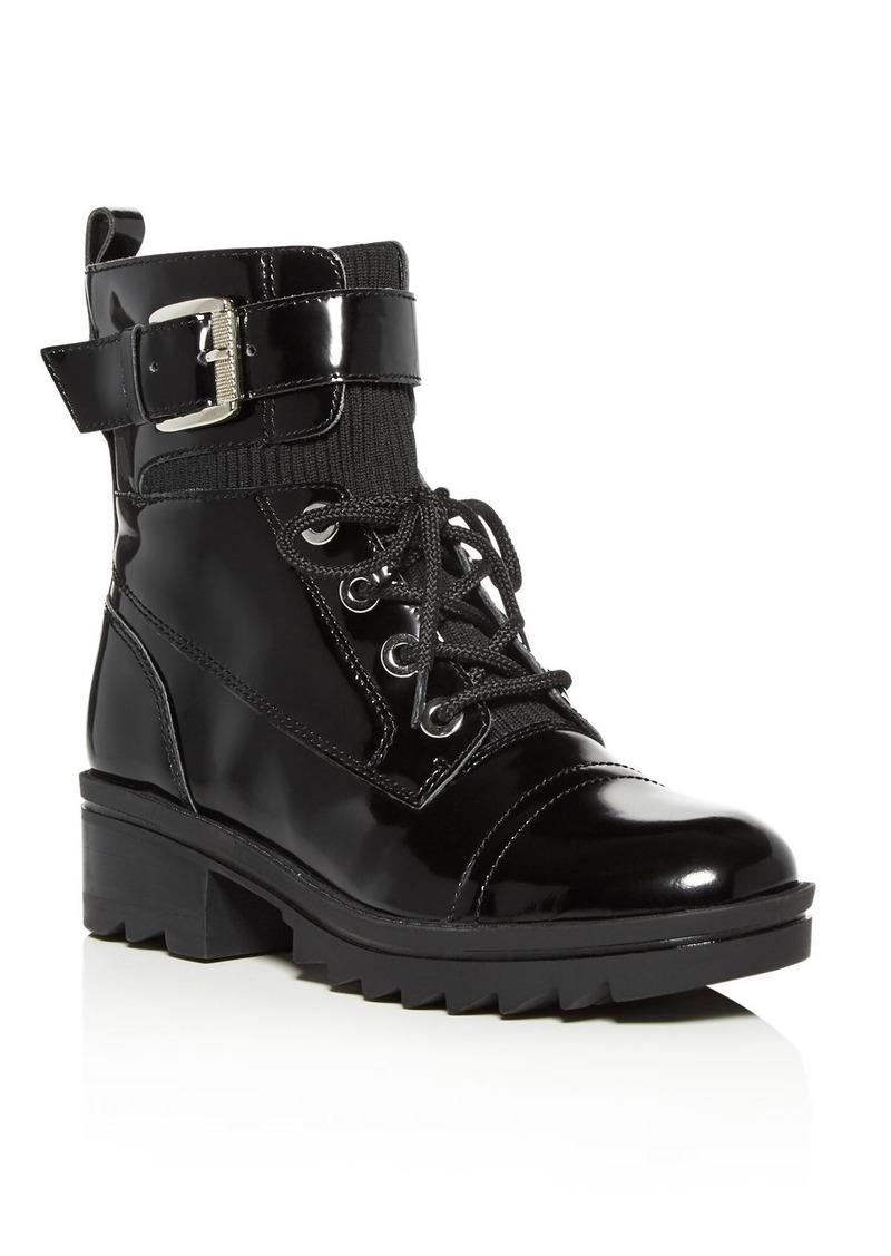 Marc Fisher LTD. Women's Bristyn Block-Heel Combat Boots