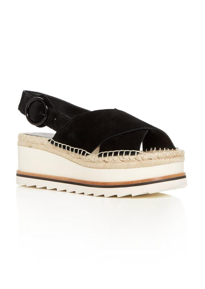 e6a08790e83c LTD. Women s Glenna Suede Slingback Espadrille Platform Sandals. Marc Fisher