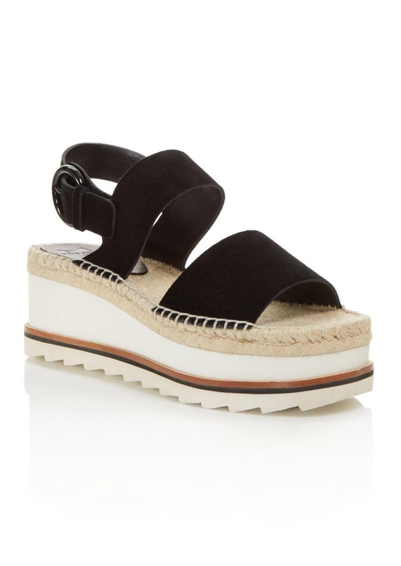 1d649c122d5 LTD. Women's Greely Suede Espadrille Wedge Platform Sandals - 100% Exclusive