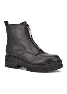 Marc Fisher LTD. Women's Paralee Front Zip Leather Booties