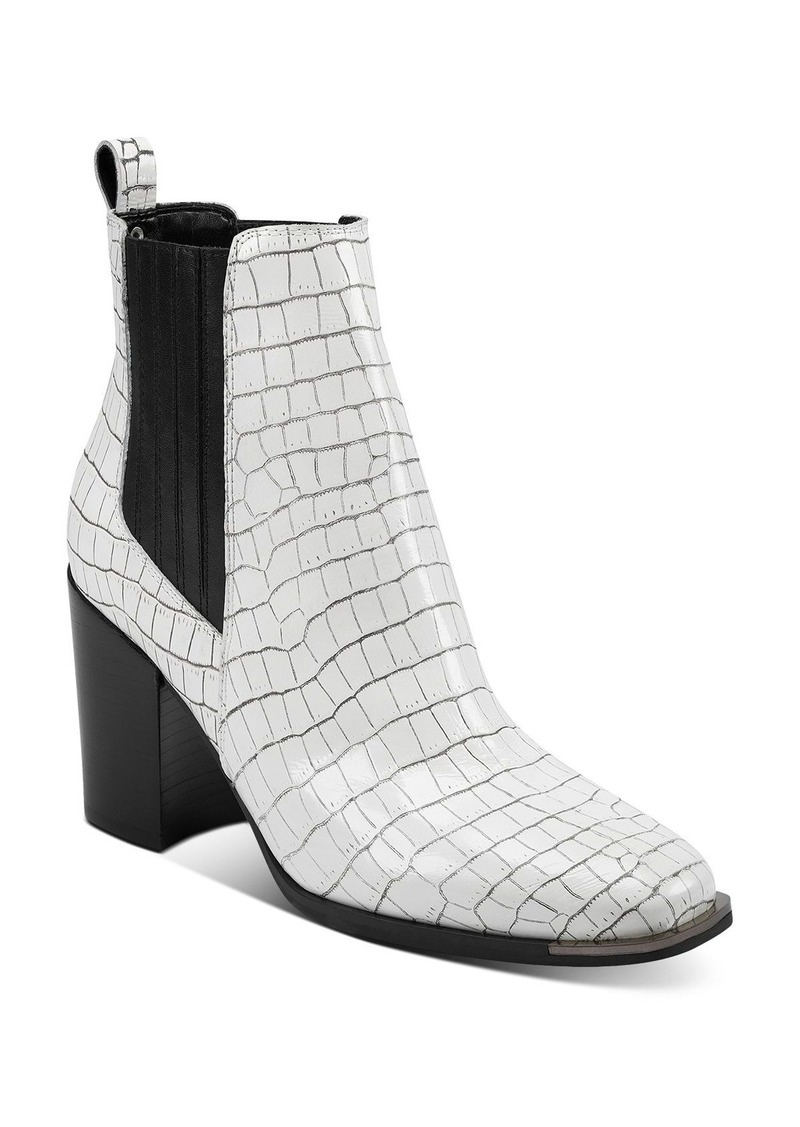 Marc Fisher LTD. Women's Taline Croc-Embossed Booties