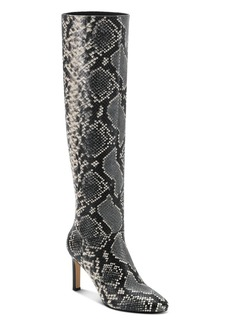 Marc Fisher LTD. Women's Zadia Snake-Embossed High-Heel Boots