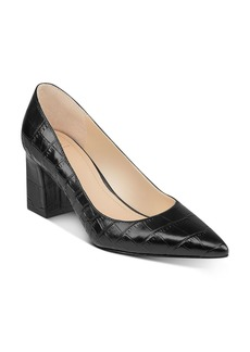 Marc Fisher LTD. Women's Zala Pointed-Toe Block-Heel Pumps