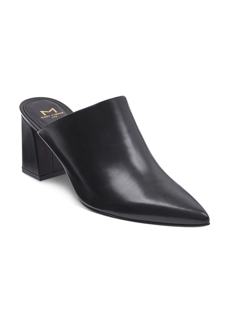30301c81e2a Marc Fisher Marc Fisher LTD. Women s Zivon Leather Pointed Toe Block ...