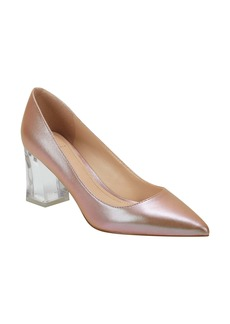 Marc Fisher LTD Zala Clear Heel Pump (Women)