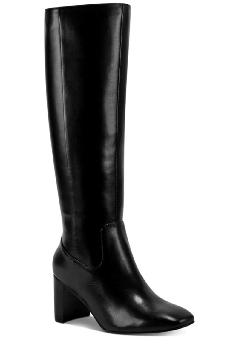 Marc Fisher Revela Square-Toe Boots Women's Shoes