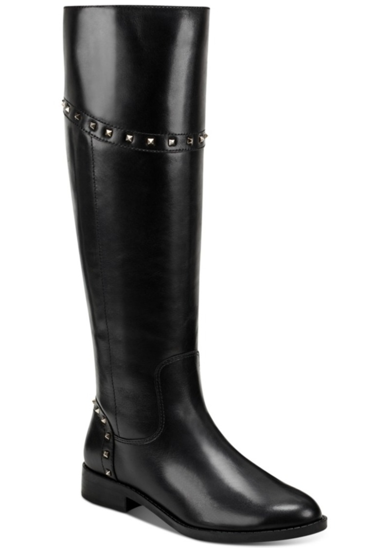 Marc Fisher Secalm Stud-Trim Boots Women's Shoes