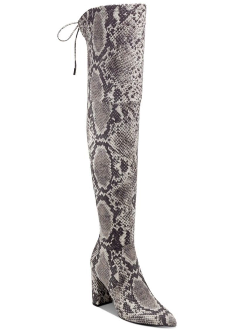 Marc Fisher Vany Over-The-Knee High-Heel Boots Women's Shoes