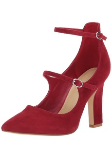 Marc Fisher Women's Kairi Pump red  Medium US