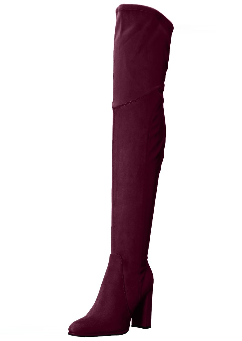 Marc Fisher Women's Nella Over The Over The Knee Boot   Medium US