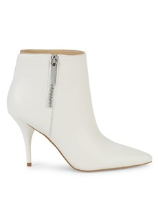 Marc Fisher Faye Leather High-Heel Booties