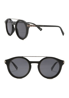 Marc Jacobs 48mm Round Aviator Sunglasses