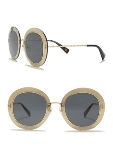 Marc Jacobs 51mm Oversized Round Sunglasses