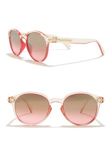 Marc Jacobs 52mm Round Sunglasses