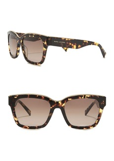 Marc Jacobs 53mm Twist Square Sunglasses