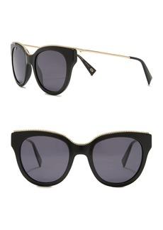 Marc Jacobs 54mm Chain Trim Cat Eye Sunglasses