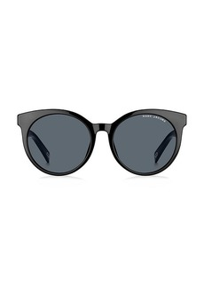 Marc Jacobs 54MM Oval Sunglasses
