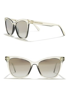 Marc Jacobs 54mm Squared Cat Eye Sunglasses