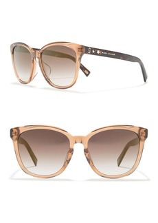 Marc Jacobs 55mm Squared Cat Eye Sunglasses