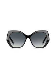 Marc Jacobs 56MM Geometric Sunglasses