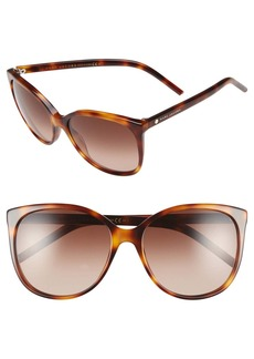 Marc Jacobs 56mm Round Sunglasses