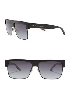 Marc Jacobs 57mm Flat Top Sunglases